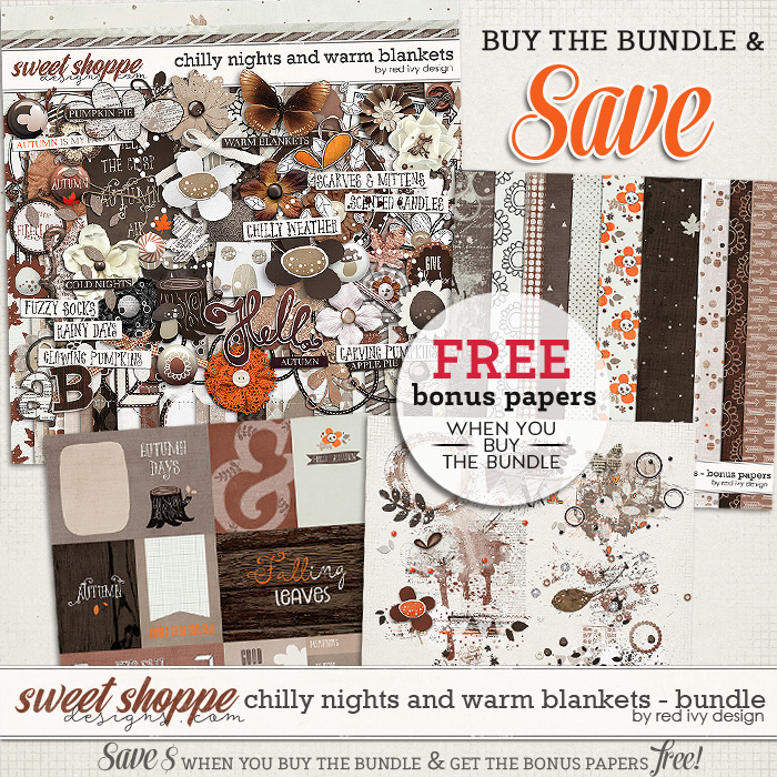 Chilly Nights and Warm Blankets - Bundle by Red Ivy Design