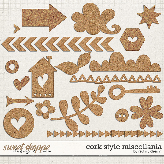 Cork Style Miscellania by Red Ivy Design