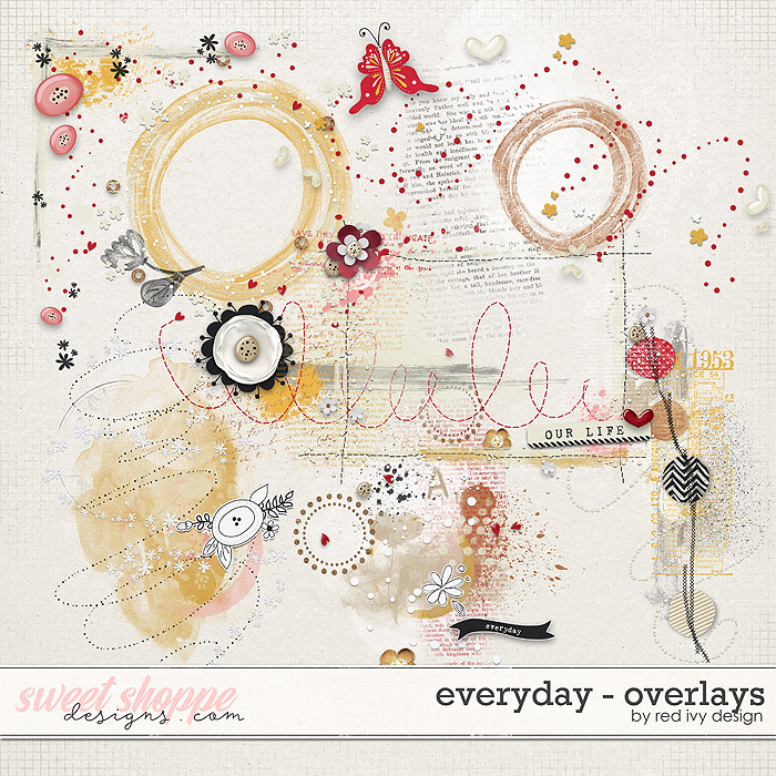 Everyday - Overlays by Red Ivy Design