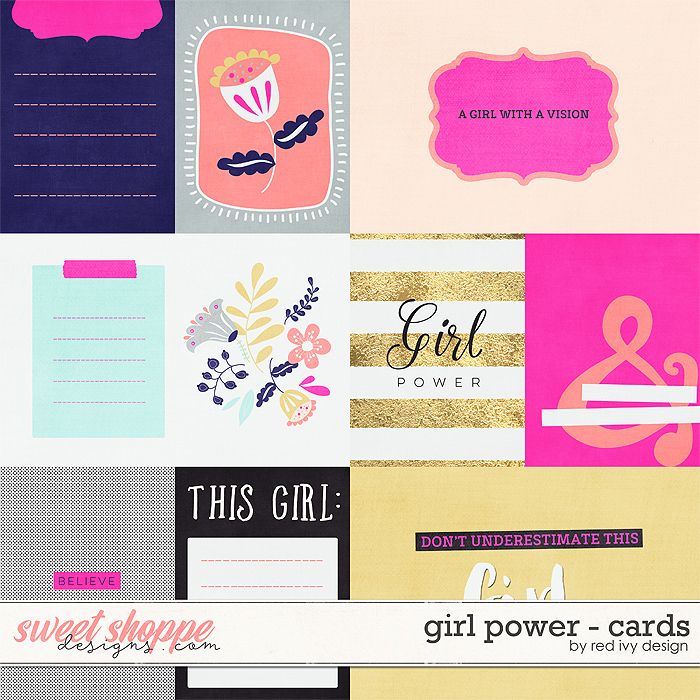 Girl Power - Cards by Red Ivy Design