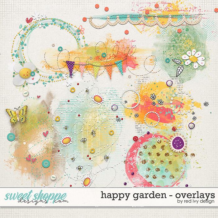 Happy Garden - Overlays by Red Ivy Design