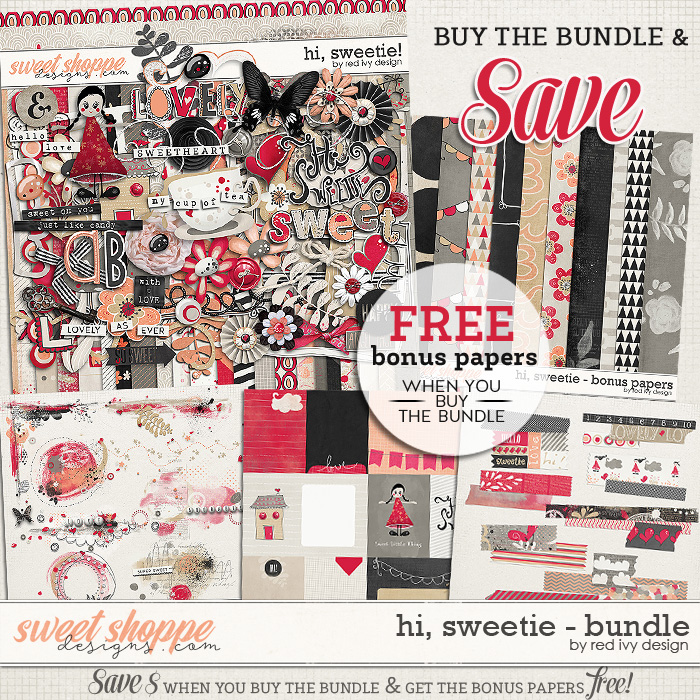 Hi, Sweetie! - Bundle by Red Ivy Design
