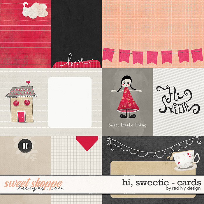 Hi, Sweetie! - Cards by Red Ivy Design