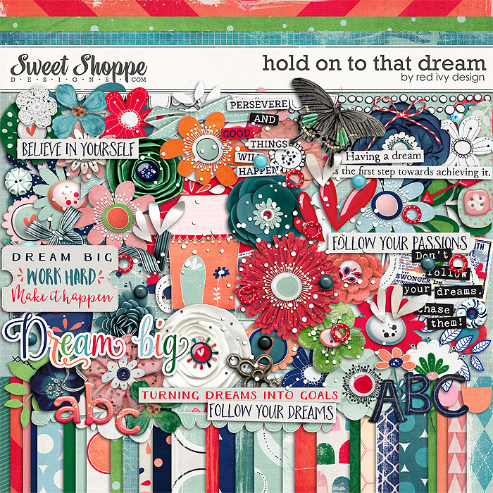 Hold On To That Dream by Red Ivy Design