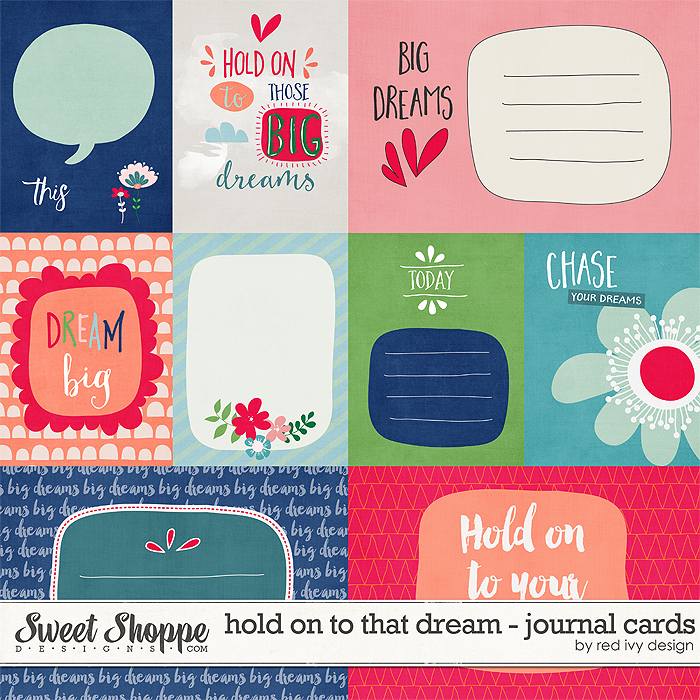 Hold On To That Dream - Cards - by Red Ivy Design