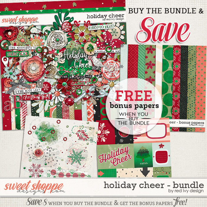 Holiday Cheer - Bundle by Red Ivy Design