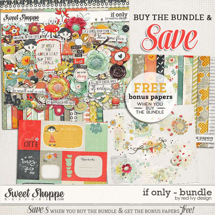 If Only - Bundle - by Red Ivy Design