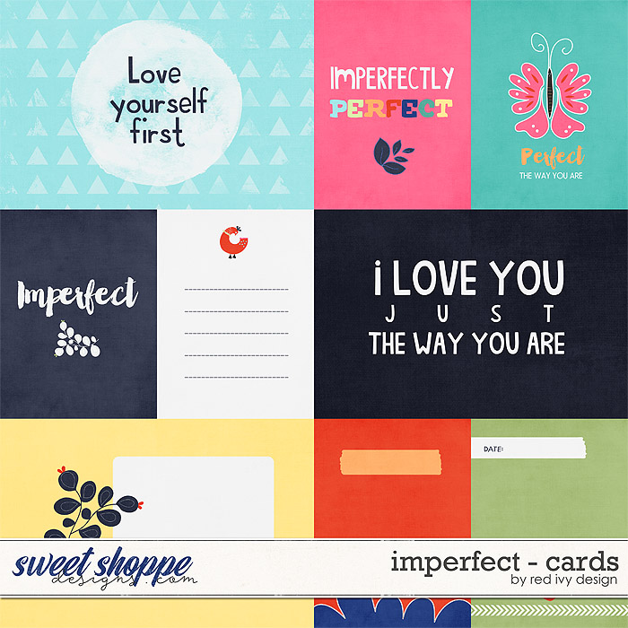 Imperfect - Cards by Red Ivy Design