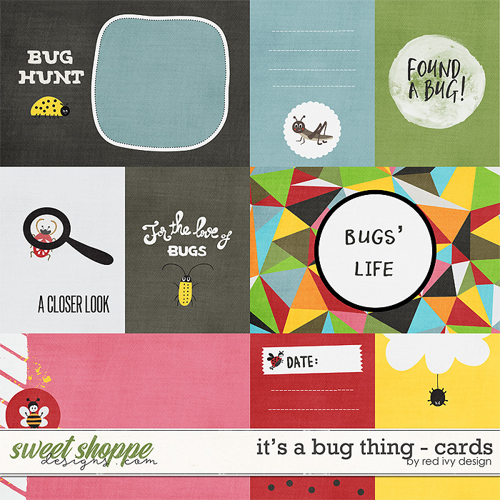 It's a Bug Thing - Cards by Red Ivy Design