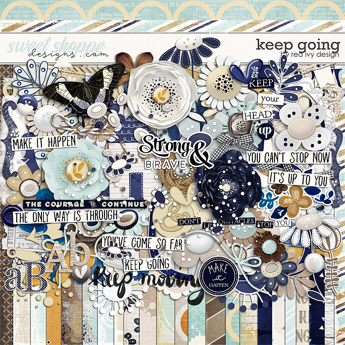 Keep Going by Red Ivy Design