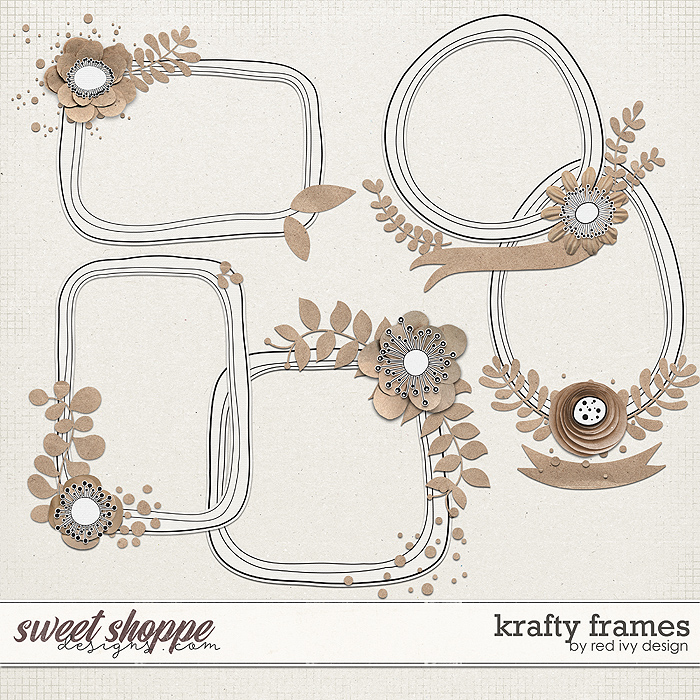 Krafty Frames by Red Ivy Design