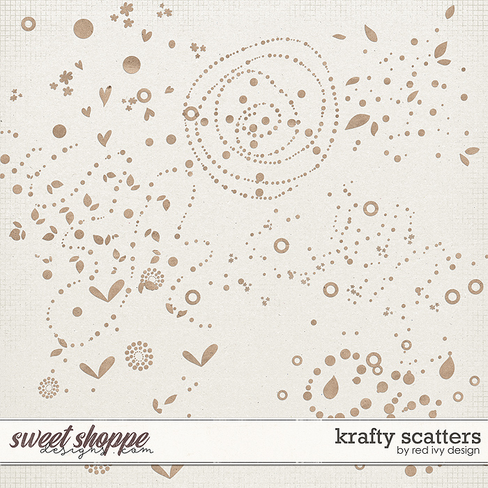 Krafty Scatters by Red Ivy Design