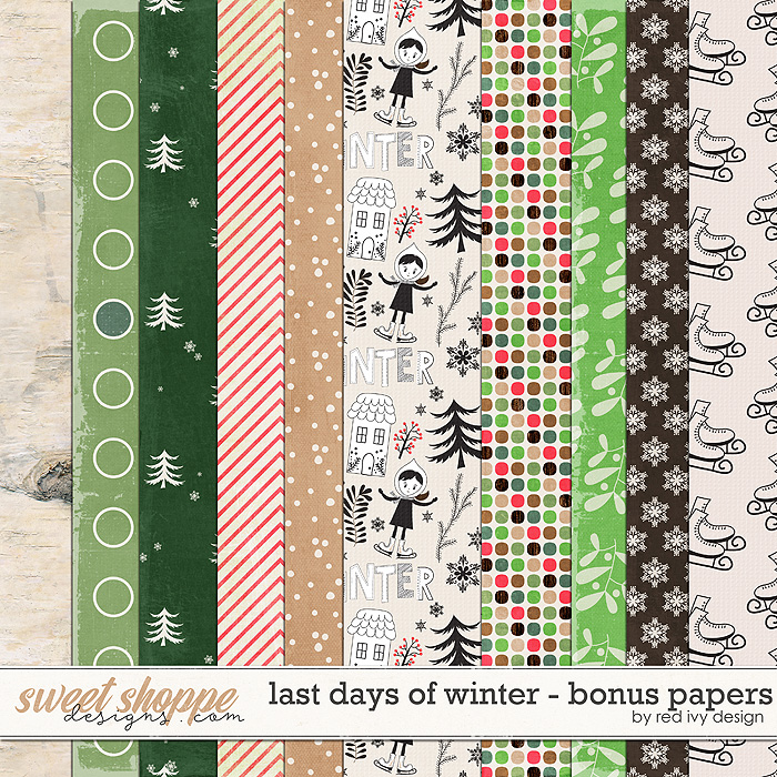 Last Days of Winter - Bonus Papers