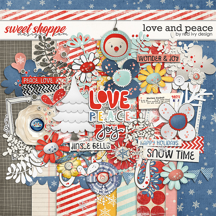 Love and Peace by Red Ivy Design