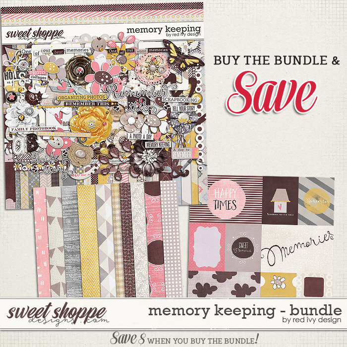Memory Keeping - Bundle by Red Ivy Design