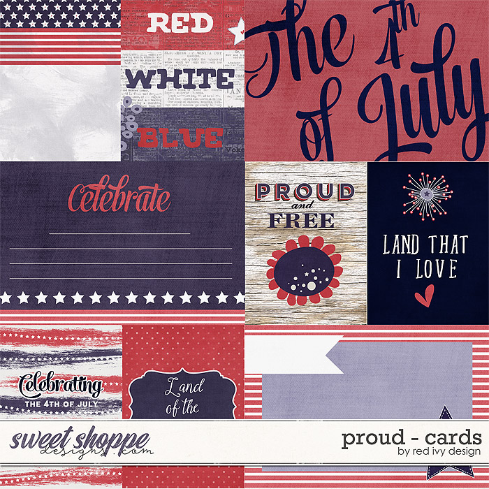 Proud - Cards by Red Ivy Design