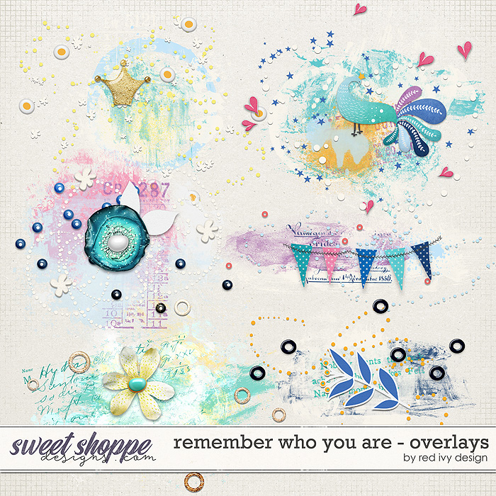 Remember Who You Are - Overlays by Red Ivy Design