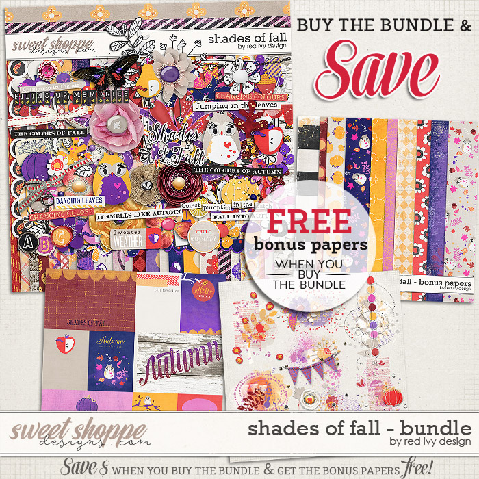 Shades of Fall - Bundle by Red Ivy Design
