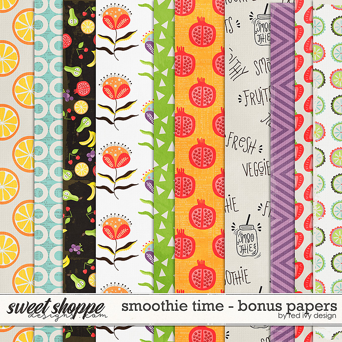 Smoothie Time - Bonus Papers