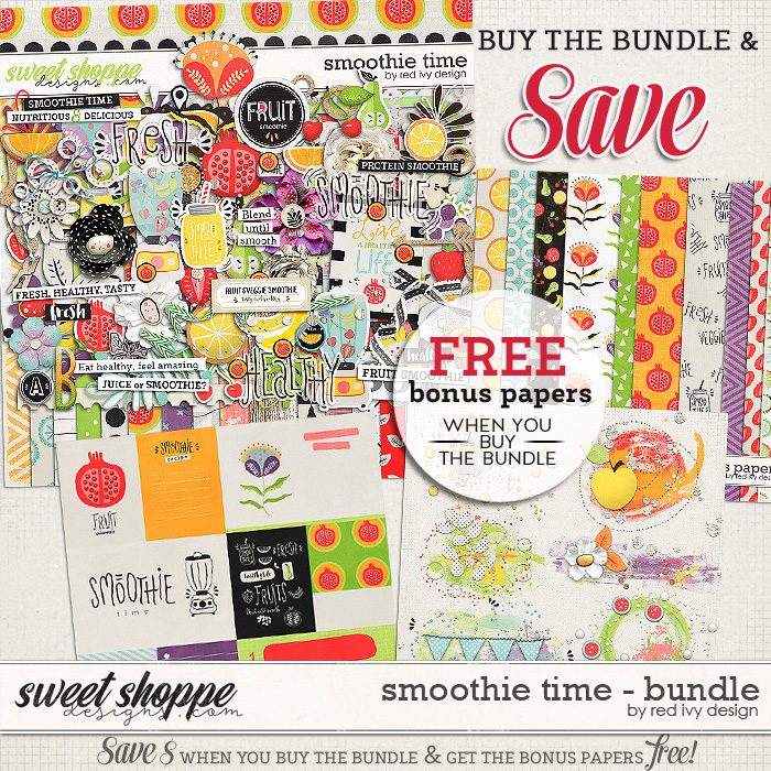 Smoothie Time - Bundle by Red Ivy Design