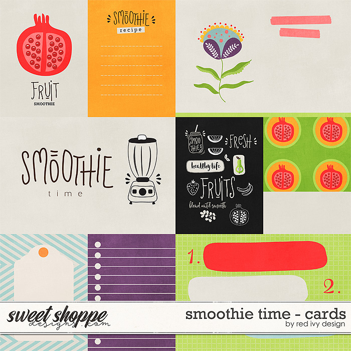 Smoothie Time - Cards by Red Ivy Design