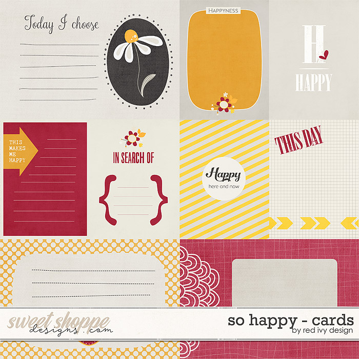So Happy - Cards by Red Ivy Design