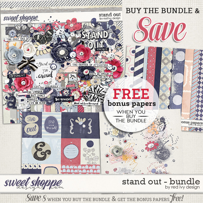 Stand Out - Bundle by Red Ivy Design