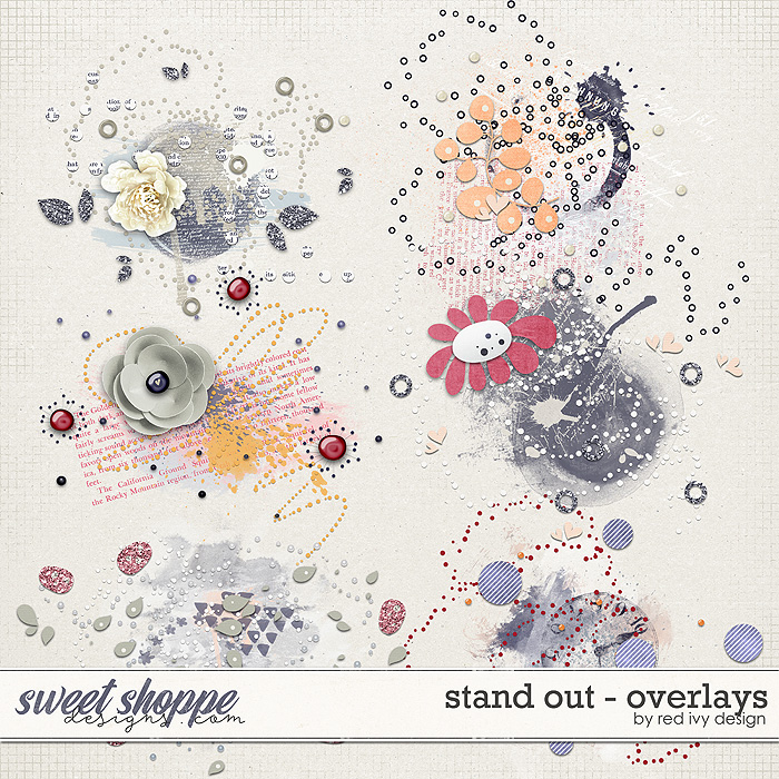 Stand Out - Overlays by Red Ivy Design