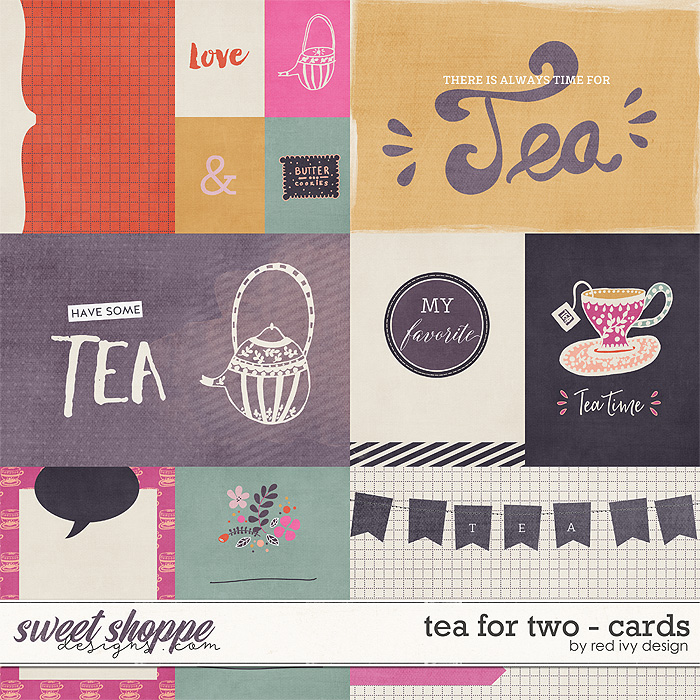 Tea For Two - Cards by Red Ivy Design