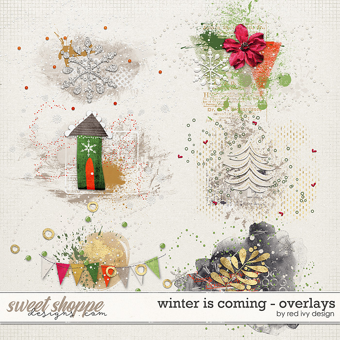 Winter is Coming - Overlays by Red Ivy Design