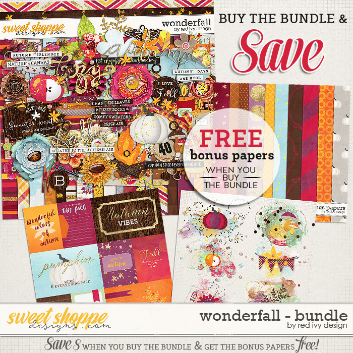 Wonderfall - Bundle by Red Ivy Design