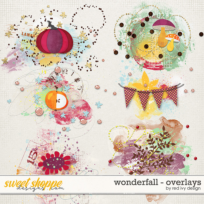 Wonderfall - Overlays