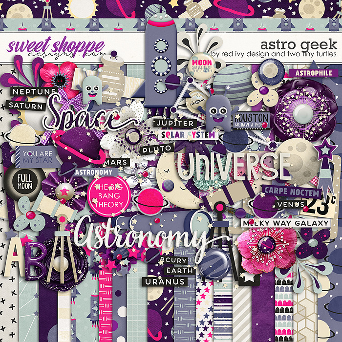 Astro Geek by Red Ivy Design and Two Tiny Turtles