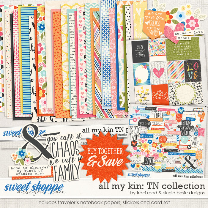 All My Kin TN Collection by Studio Basic and Traci Reed