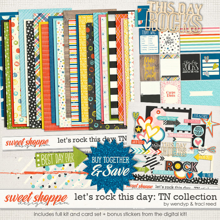 Let's rock this day TN Collection by Traci Reed & WendyP Designs