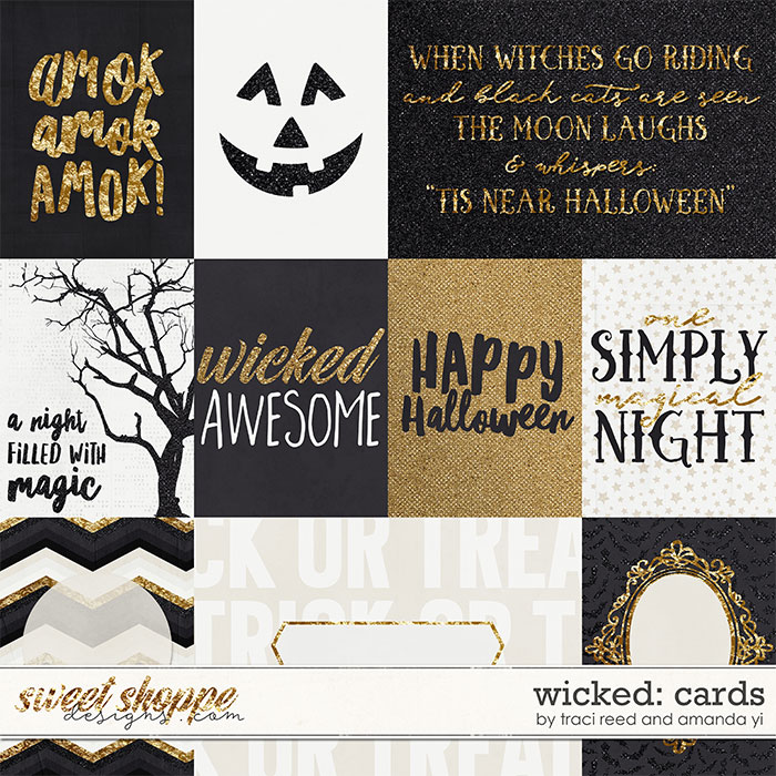Wicked : Cards by Amanda Yi & Traci Reed