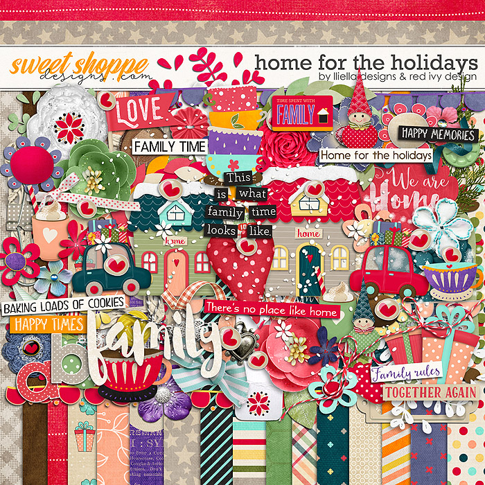 Home for the Holidays by lliella designs & red ivy design