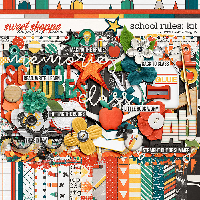 School Rules: Kit by River Rose Designs