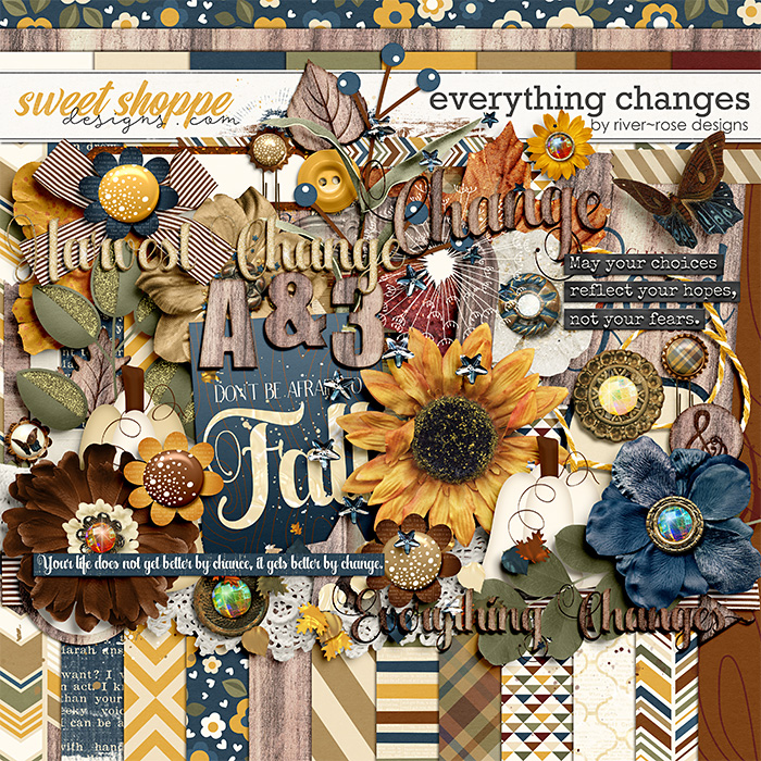 Everything Changes Kit by River~Rose Designs