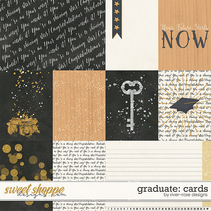 Graduate: Cards by River Rose Designs