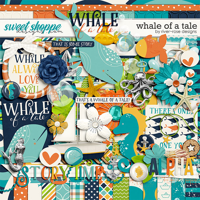 Whale of a Tale by River Rose Designs