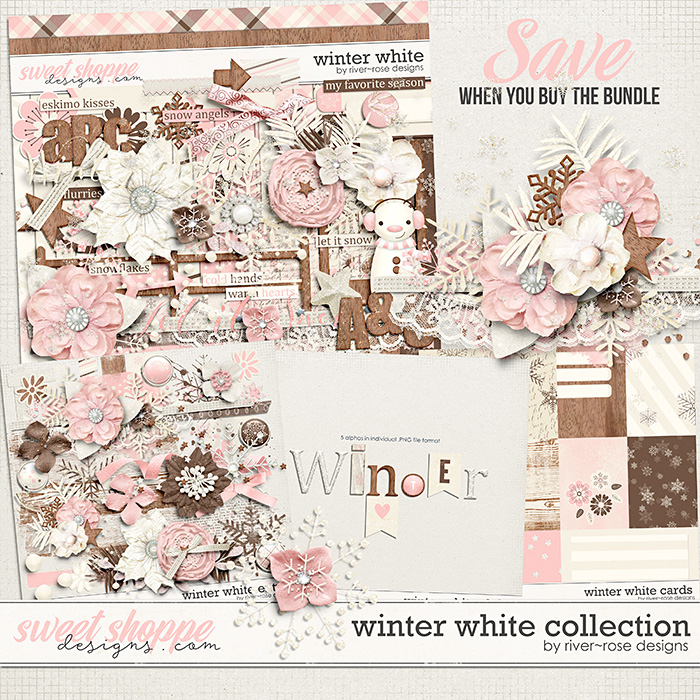 Winter White Collection by River Rose Designs