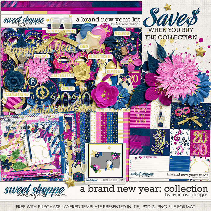 A Brand New Year: Collection + FWP by River Rose Designs