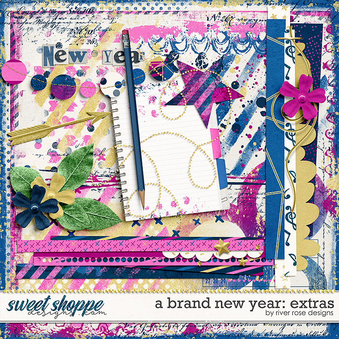 A Brand New Year: Extras by River Rose Designs