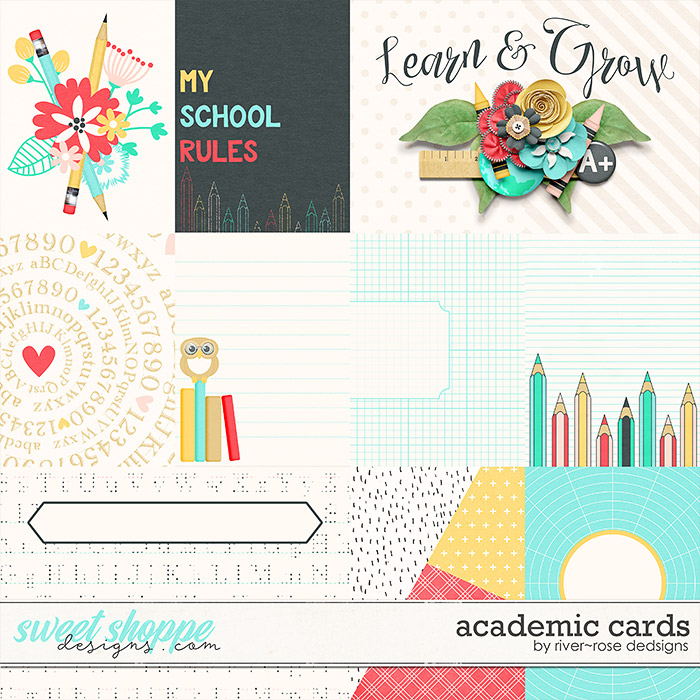 Academic Cards by River Rose Designs