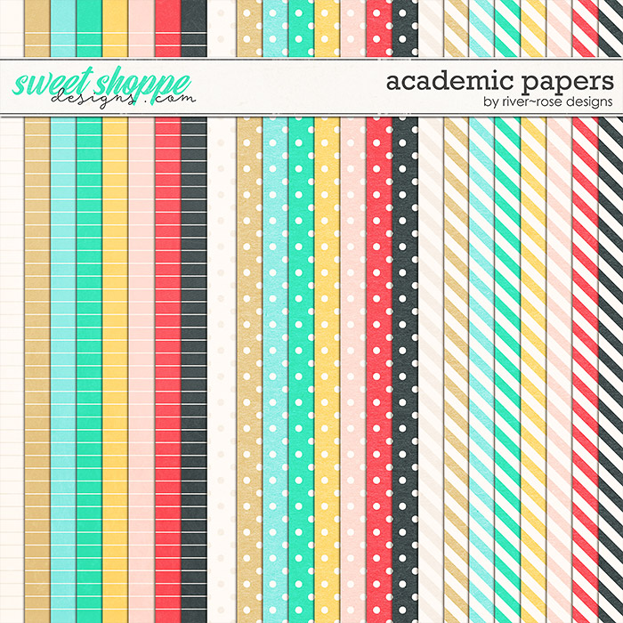 Academic Papers by River Rose Designs