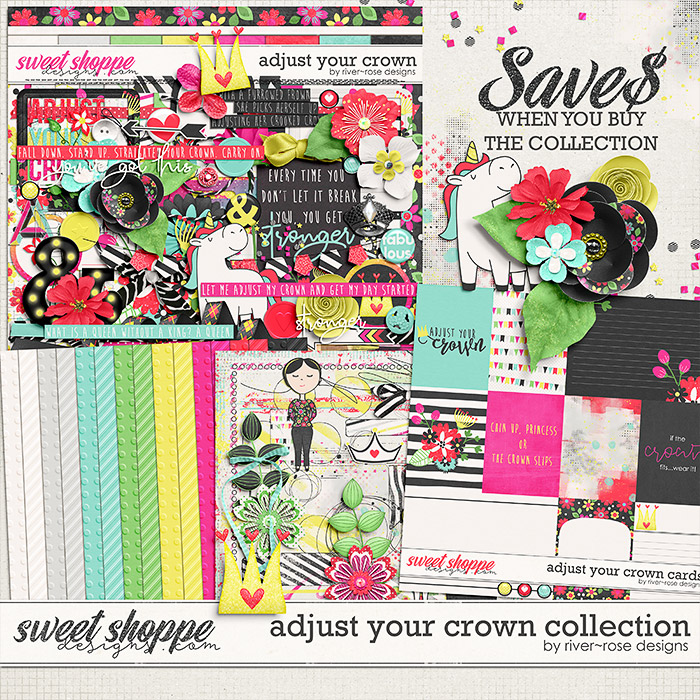 Adjust Your Crown Collection By River Rose Designs
