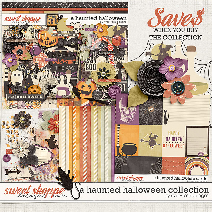 A Haunted Halloween Collection by River Rose Designs