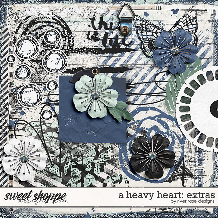 A Heavy Heart: Extras by River Rose Designs