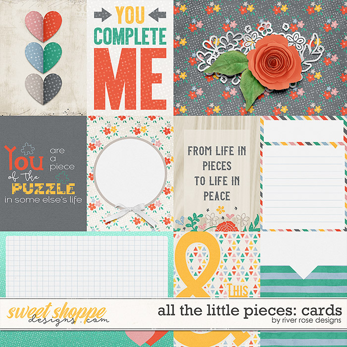 All the Little Pieces: Cards by River Rose Designs